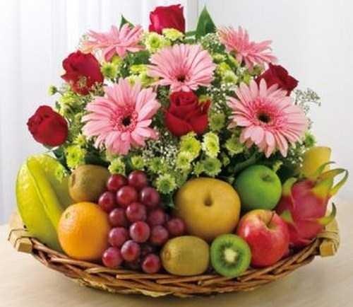 Send Gift Philippines Flowers Amp Mix Fruit Basket