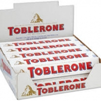6x Toblerone White 100 g.