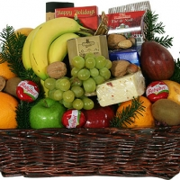 Basket with GRocerry